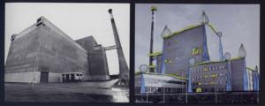 Hundertwasser Rimodellamento della centrale nucleare di Zwenterdorf