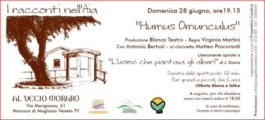 humus omunculus spettacolo teatrale in agriturismo